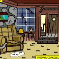 Gravity Falls Living Room
