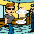 Python Vs The Ethans