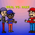 real vs. fake