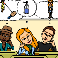 Bitstrips High School Parody9