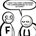 F and U