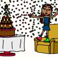 'Happy Birthday Hanna'
