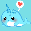 Cute narwhal!