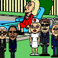 The cast of Bill and Nurse