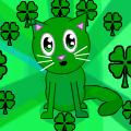 Green Irish Cat