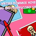 Diary writing, romance novel reading and frappucci