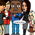 Bitstrips Breakfast Club