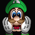 scared luigi &lt;3