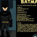 Batman - Character Bio