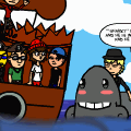 Pirates! kraken