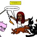 remix u on an animal