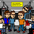 Riding the Bitstripcity Subway