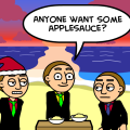'Theme of the Day: APPLESAUCE'
