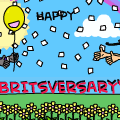 "Happy ""Britsversary"""