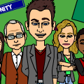 TV cast: Community.