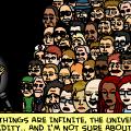 Infinite things after Albert..