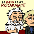As God as my Roommate