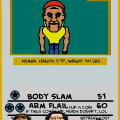 Bitstripsmon Hulk Hogan