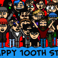 Happy 100th strip