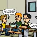 Comic #2: Cafeteria Food