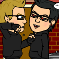 Alex and Dark Alex.