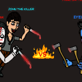 Jeff and John VS Eyeless Jack