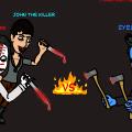 Jeff and John VS Eyeless Jack