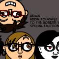 Remixed Face Border