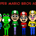 real super mario bros adventure