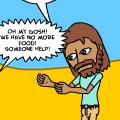 Jesus Feeds 4000 People