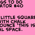 100 things to do in a elevator