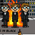 dudes in black