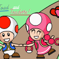 toad and toadette <3