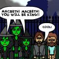 Macbeth Comic Strip