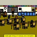 hanted school