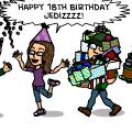 Happy Birthday Jedizzzz!