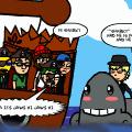 Pirates!  MEET JAWS