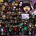 80 friends. 80 strips.