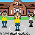 The Bitstrips High School