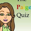 THE PAIGE QUIZ. take it!