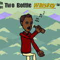 Two bottle whiskey