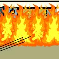 Santiago burns the school #2