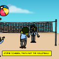 'Zombie Volleyball'