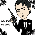 jamesbond:white roses