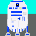 2D version of R2-D2