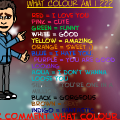 what colour am i?