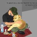 Homeless Man & Dog