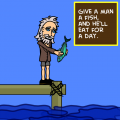 TotD: Give a Man a Fish