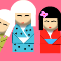 3 Japanese Dolls