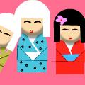 3 Japanese Dolls